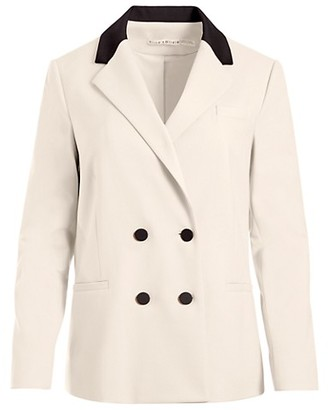 Alice + Olivia Bergen Double-Breasted Loose Blazer