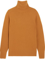Chloé Cashmere Turtleneck Sweater - Saffron