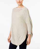 Style&Co. Style & Co. Eyelash Poncho Sweater, Only at Macy's