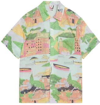 Arket Printed Short-Sleeve Shirt