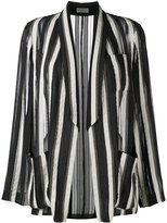 Brunello Cucinelli striped blazer - women - Silk - 40