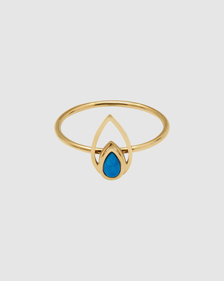 Pastiche - Women's Gold Rings - Peacock Ring - Size One Size, N at The Iconic