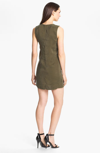 Theory 'Wandu' Silk Shift Dress