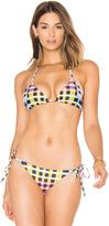 Mara Hoffman String Bikini Top