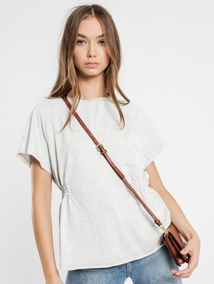 Glamorous Wasted T-Shirt in Grey Marle
