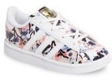 adidas Toddler Girl's Graphic Superstar Sneaker
