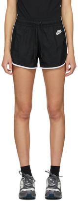 Nike Black Woven Heritage Shorts