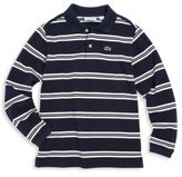 Lacoste Toddler's, Little Boy's & Boy's Striped Cotton Pique Polo Shirt