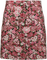 ADAM by Adam Lippes mini floral brocade pencil skirt