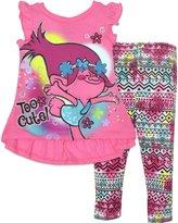 Trolls Toddler Girls' Tunic and Leggings Set