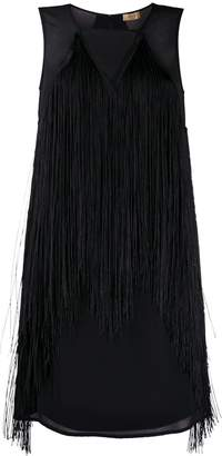 Liu Jo fringed short dress