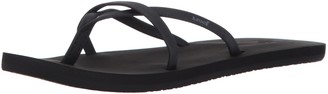 Reef Women's Sandals Bliss Wild | Vegan Leather Fashion Flip Flops for Women with Soft Cushion Footbed