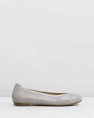 Vionic Women's Grey Ballet Flats - Caroll Ballet Flats - Size One Size, 10 at The Iconic