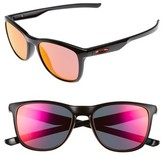 Oakley Women's Trillbe X 52Mm Sunglasses - Black/ Ruby Iridium