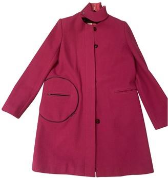 Ramosport Pink Wool Coat for Women
