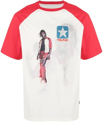Telfar x Converse two-tone graphic print t-shirt