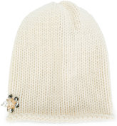 Inverni embellished knitted hat