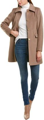 Tahari Sophie Wool-Blend Coat