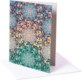 Matthew Williamson Pack of 6 Butterfly Wheel Print Greeting Cards
