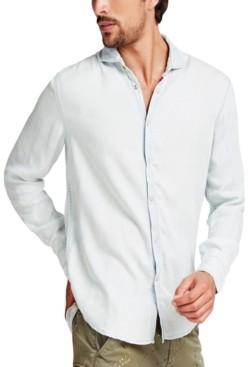 GUESS Men's Snap-Front Shirt
