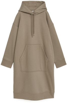 Arket Hooded Sweatshirt Dress