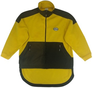 adidas Yellow Synthetic Jackets