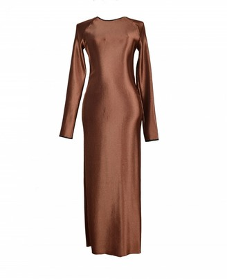 Barbara Casasola Brown Dress for Women