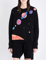 The Elder Statesman Solar System cashmere jumper