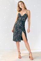 Style Stalker Stylestalker Davis Deep-V Lace Midi Dress