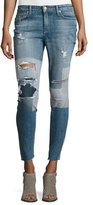 Joe's Jeans The Icon Ankle Distressed Patchwork Skinny Jeans, Joon
