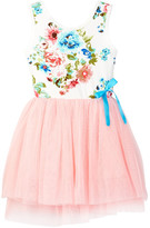 Funkyberry Floral Bodice Dress (Toddler, Little Girls, & Big Girls)