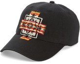 Pendleton Men's Embroidered Ball Cap - Black