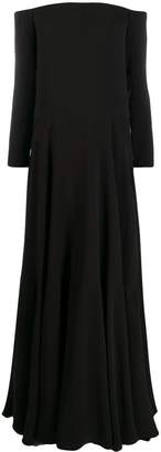 Valentino off-shoulders long dress