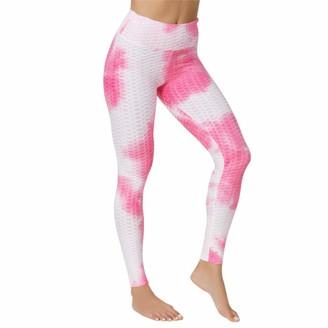 CICSI Sports Leggings Women Mallas Anticelulitis Sexy De Fitness Pantalones De Talla Grand-Rose White_XL_China