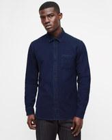 Indigo Dot Pattern Shirt
