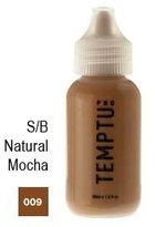 Temptu Pro Silicon Based 009 Natural Mocha 4oz. S/b Foundation Bottle by
