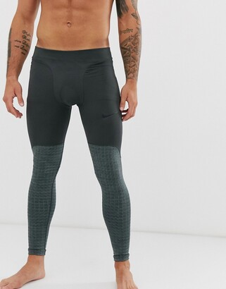 Nike Training Nike Pro Training therma utility tights in grey