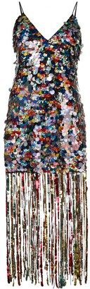 Marco De Vincenzo Sequin Embellished Dress