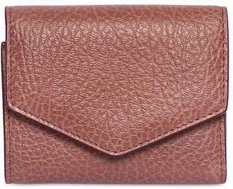 Maison Margiela Letter Grained Leather Wallet
