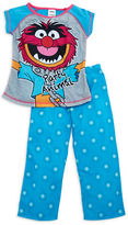 Komar Kids Two-Piece Muppets Pajama Set