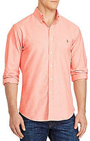 Polo Ralph Lauren Big & Tall Solid Stretch Oxford Long-Sleeve Woven Shirt