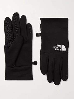 The North Face Etip Logo-Print Ponte Gloves