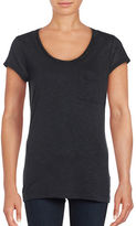 Calvin Klein Jersey Knit Chain Embellished T-Shirt