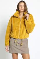 Timeless Mustard Fuzzy Jacket