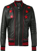 Philipp Plein 'My Last' bomber jacket - men - Sheep Skin/Shearling/Polyester/Viscose - XL