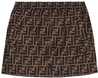 Fendi Logo skirt
