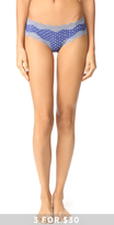 Calvin Klein Underwear Micro Lace Cheeky Hipster