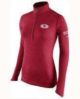 Nike Women's San Francisco 49ers Tailgate Element Quarter-Zip Pullover