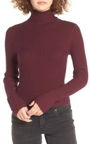 BP Rib Knit Turtleneck Sweater