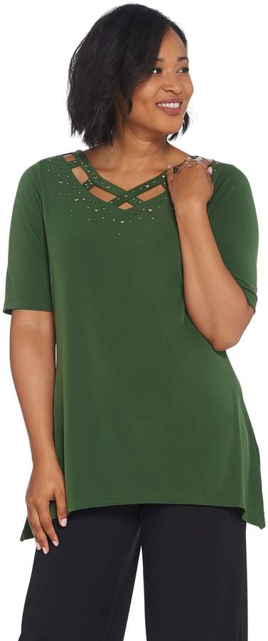 e4b65c42914476 Olive Knit Top - ShopStyle